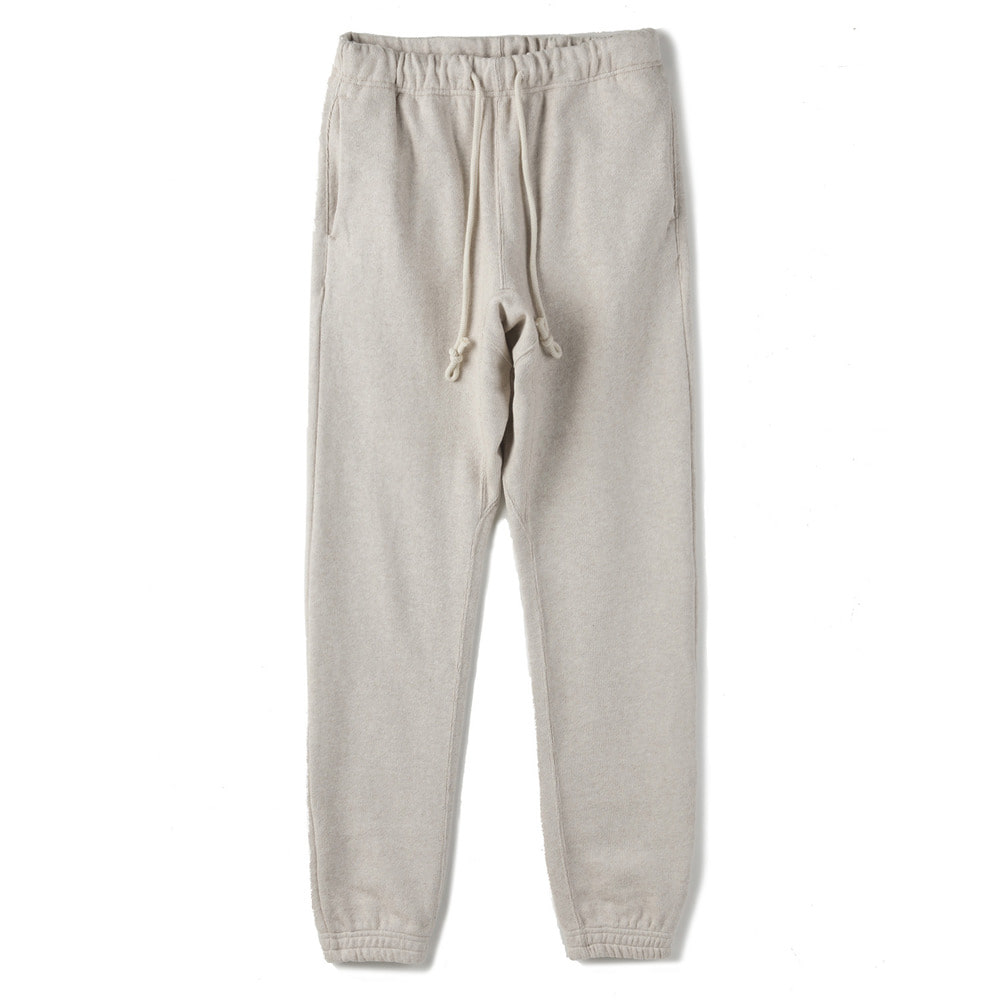"Cotton-jersey track pants ""Oatmeal"""