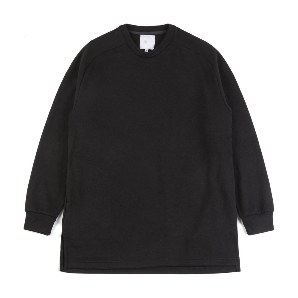 "Raglan cotton-jersey sweatshirt ""Black"""