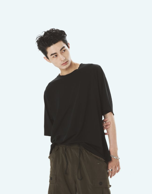 "Zigzag T-shirts""Black"""